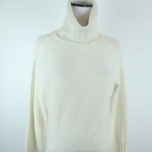 nwt Smartwool avondale ivory 100% wool sweater L